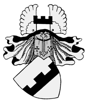 Wrangel family - Coat of arms of the Wrangel family.