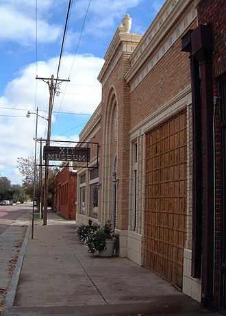 Dallam County, Texas - The XIT Museum in Dalhart.