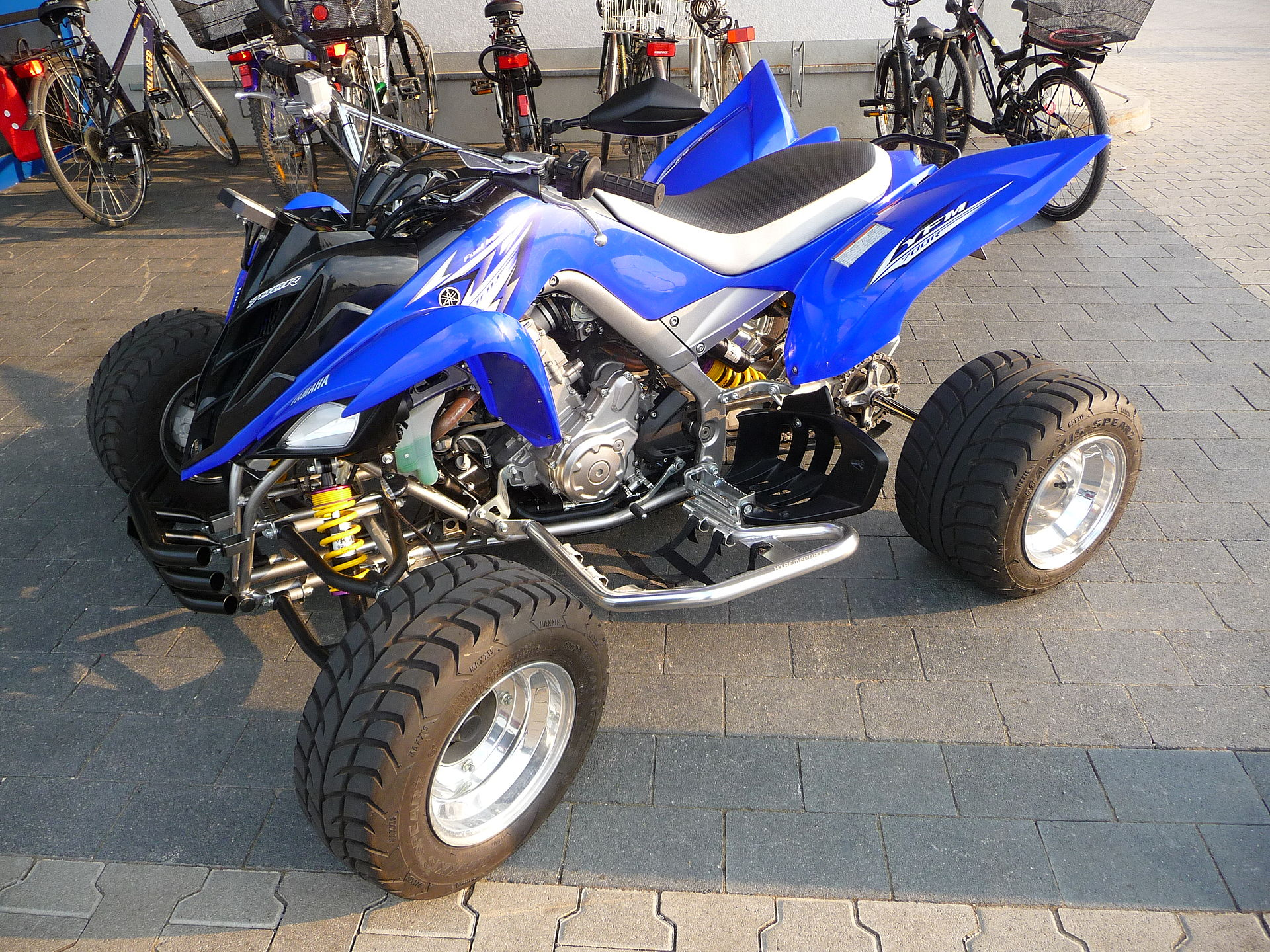 Yamaha Raptor Specifications