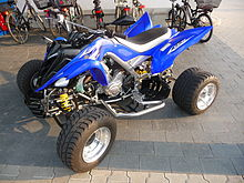 Yamaha Grizzly Blue
