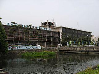 Yamatokōriyama City in Kansai, Japan