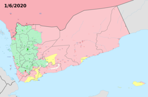 Yemen Warmap with Frontlines.png