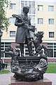 Yershov monument. Tobolsk. Tyumen reg. Russia. Памятник Ершову. Тобольск. Тюменская обл. Россия - panoramio.jpg