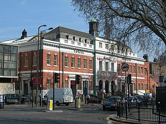 York Hall - Image: York Hall, Old Ford Road, E2 geograph.org.uk 394883