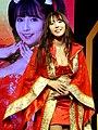 Yua Mikami on Taiwan Pavilion stage, Taipei Game Show 20180127a.jpg