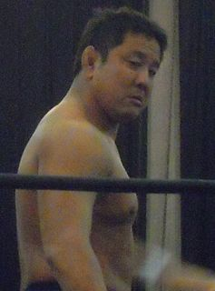 Yuji Nagata Japanese professional wrestler