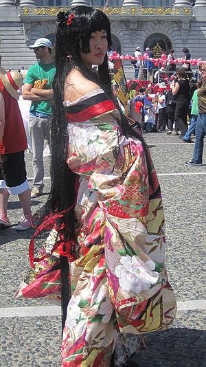 Yūko Ichihara - A cos-player portraying Yuko Ichihara at the 2010 Northern California Cherry Blossom Festival.