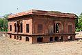 Zafar Mahal - South-west View - Hayat-Bakhsh-Bag - Red Fort - Delhi 2014-05-13 3343.JPG