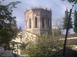 Zaqatala (city) - Image: Zaqatala Georgian Church