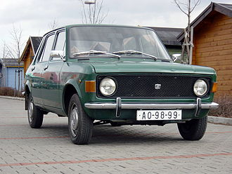 Fiat Automobili Srbija - 1976 Zastava 101 (from Kragujevac, sold as Zastava 1100 in Czechoslovakia)