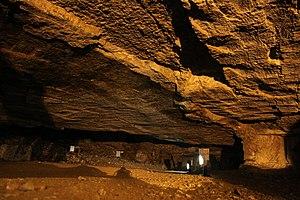 Zedekiah's Cave - Image: Zedekiah's Cave in summer 2011 (2)