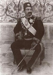 Massoud Mirza Zell-e Soltan Persian prince