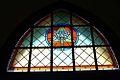 Zespół klasztorny pl Grunwaldzki 3 a-c witraż w kościele fot BMaliszewska.jpg