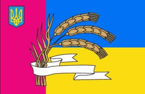 Zhashkiv Raion - Image: Zhashkivskiy rayon prapor