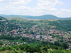 Panorama of Zvečan