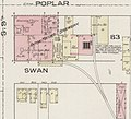 """Anton Mayer Brewery"" in 1886 detail, from- Sanborn Fire Insurance Map from Terre Haute, Vigo County, Indiana. LOC sanborn02512 001-13 (cropped).jpg"