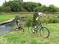 'Fish on Bicycles' at Barnes - geograph.org.uk - 1446525.jpg
