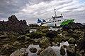 'Mestre Simão' ship grounded at the Madalena harbour, Pico Island, Azores, Portugal (PPL2-Enhanced) 2 julesvernex2.jpg