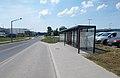 'Mindszenti utca' bus stop, 2018 Oroszlány.jpg