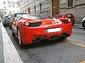 ' 10 - ITALY - Ferrari 458 Italia rossa a Milano 04.jpg