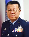 (Cropped) Air Force (ROCAF) Lieutenant General Wu Yi-chang 空軍中將吳怡昌.jpg