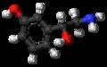 (R)-Norfenefrine molecule ball.png
