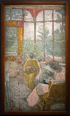 La Véranda du Coadigou à Loctudy, Marcelle Aron et Marthe Mellot