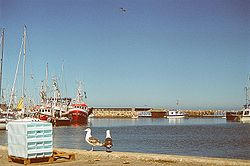 Østerby Havn på Læsø.