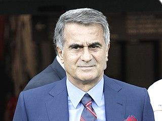 Şenol Güneş Turkish footballer and manager