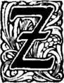 Żywoty św. Pańskich na wszystkie dnie roku-Inicjał-Z.png