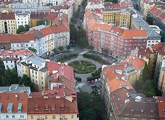 Žižkov - Škroupovo náměstí