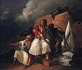 Ο ζωγράφος του Αγώνα Θεόδωρος Βρυζάκης (1814-1878) τον πατέρα του τον κρέμασαν οι Τούρκοι.jpg