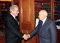 Συνάντηση ΥΠΕΞ Δ. Αβραμόπουλου με Πρόεδρο της Δημοκρατίας Κ. Παπούλια (8386355591).jpg