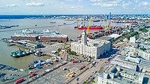 Uruguay-Transportation-Вид на монтевидеоский порт