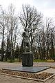 Вінниця, центральний парк, Пам'ятник О. М. Горькому.jpg