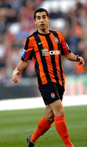 Henrikh Mkhitaryan - Mkhitaryan playing for Shakhtar Donetsk in 2011