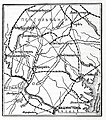 Карта к статье «Гэттисбург». Военная энциклопедия Сытина (Санкт-Петербург, 1911-1915).jpg