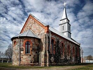Ilya, Belarus - Church of the Sacred Heart of Jesus in Ilya