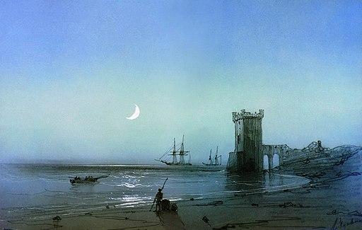 Морской пейзаж Айвазовский