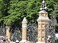 СПб, решётка и ворота ограды Михайловского сада. 6.06.2011.jpg