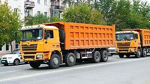 Shaanxi Automobile Group - Image: Четырехосный самосвал Шакман