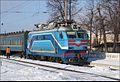 Электровоз ВЛ40У-1260.2 (ТЧ-2 Котовск), с поездом №23М Москва - Одесса на станции Жмеринка, 12.01.2013. - panoramio.jpg