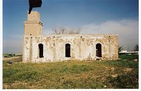 Old mosque of Kawfakha, in 2000, presently used as a storehouse