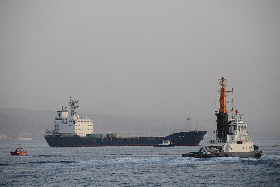 """אוניית הנשק האיראנית """"קלוס-סי"""""""