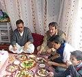 غذای مهمانی محلی در افغانستان.jpg