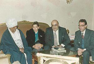 Farag Foda - Farag Foda, second from the right