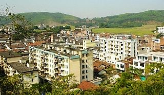 Dongluo Town in Guangxi, Peoples Republic of China