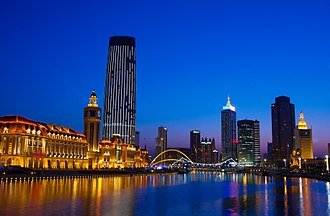 Hai River - Hai River in Tianjin