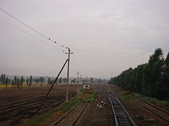 Midong District - Lucaogou Railway Station