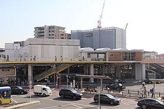 Ibaraki Station Railway station in Ibaraki, Osaka Prefecture, Japan